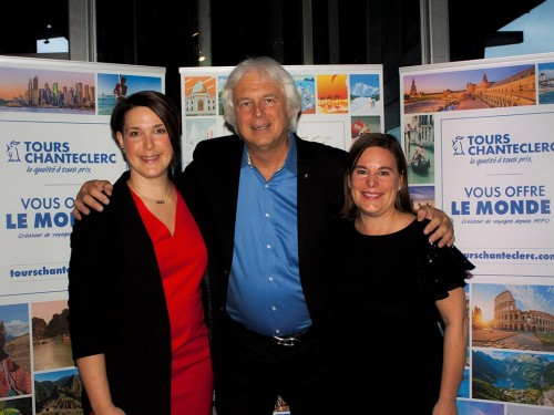 Claude St-Pierre s'adresse aux agents, partenaires et clients de Tours Chanteclerc