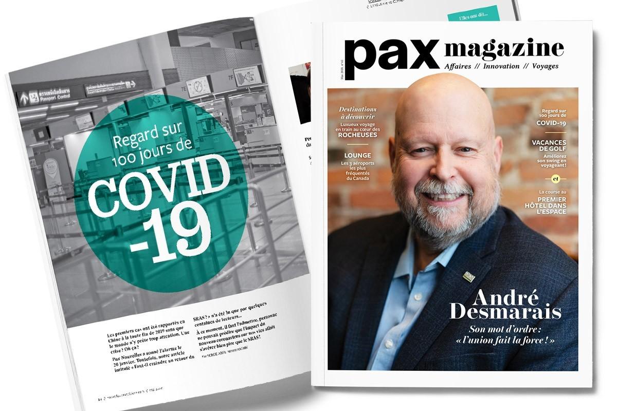 L'édition de mai 2020 de PAX Magazine est maintenant disponible !