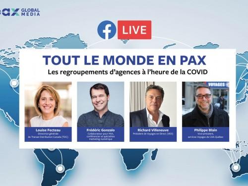 Nouveau Facebook Live « Tout le monde en PAX » : les regroupements d'agences à l'heure de la COVID