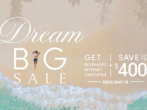 Celebrity dévoile la vente « Dream Big » et offre des avantages aux agents