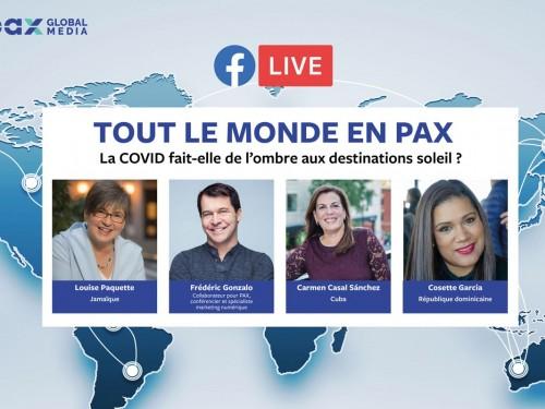 Nouveau Facebook Live « Tout le monde en PAX » : La COVID fait-elle de l'ombre aux destinations soleil ?