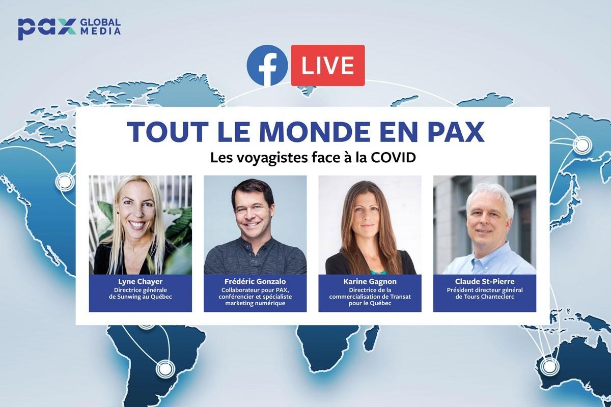 « Tout le monde en PAX » : Claude St-Pierre remplace Guy Marchand pour notre Facebook Live d'aujourd'hui