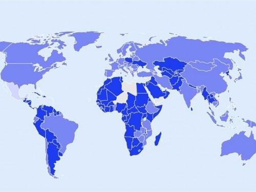 Une carte interactive qui montre les plus récentes restrictions liées à la COVID