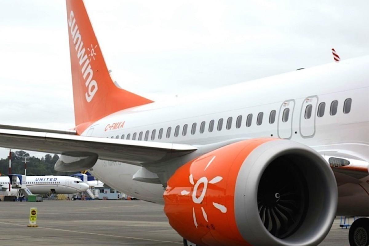 Sunwing annule temporairement tous ses vols vers le sud pour rapatrier ses clients au Canada