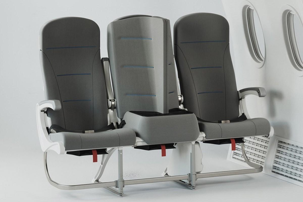 Ce nouveau design de siège d'avion pourrait être la réponse au problème de la distanciation sociale à bord