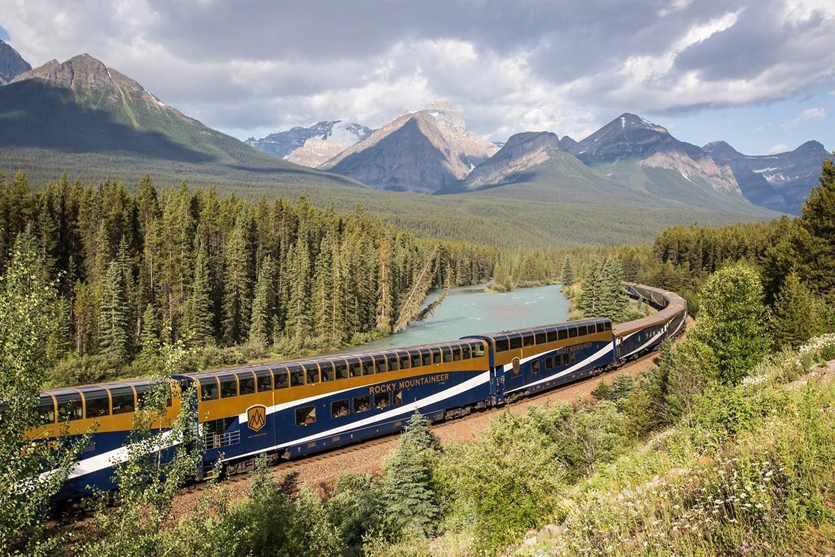 Rocky Mountaineer : luxueux voyage en train au cœur des Rocheuses