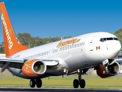 Sunwing suspend ses vols jusqu'au 16 août