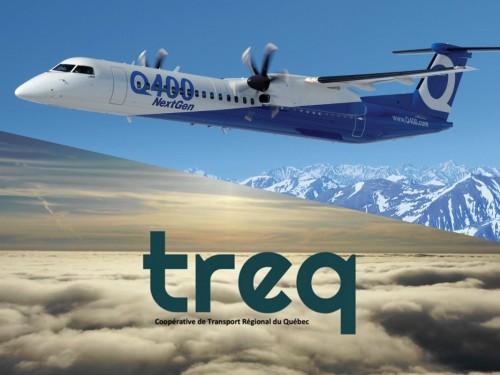 Treq : un nouveau transporteur aérien régional pour desservir le Québec