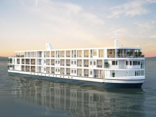 PHOTOS : Viking va lancer un nouveau navire fluvial sur le Mékong