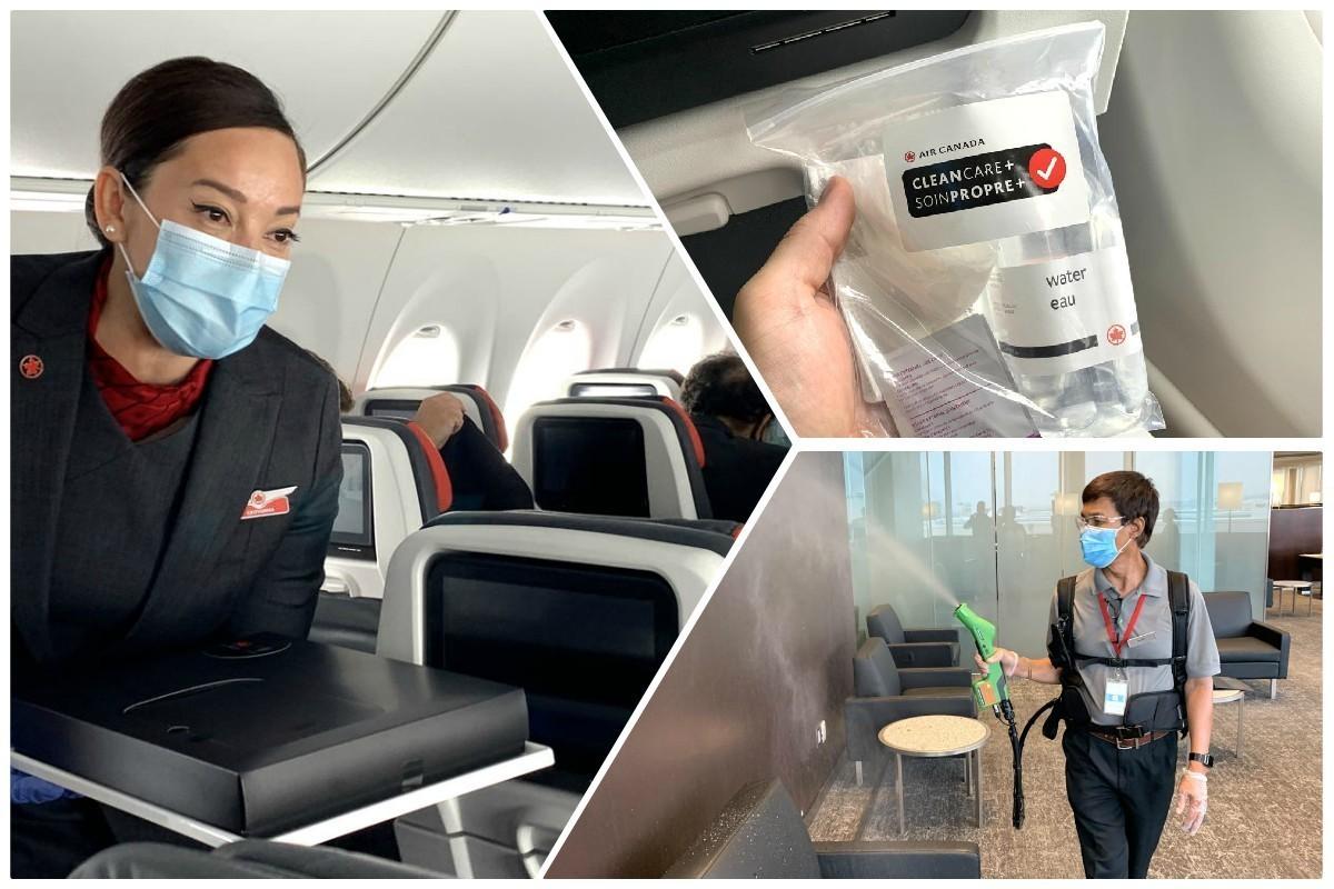 Nous avons voyagé avec Air Canada pendant la pandémie de COVID-19. Voici ce que nous avons vu.