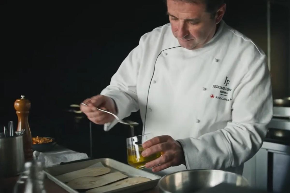 Le réputé chef Jérôme Ferrer intègre le groupe d'experts culinaires d'Air Canada