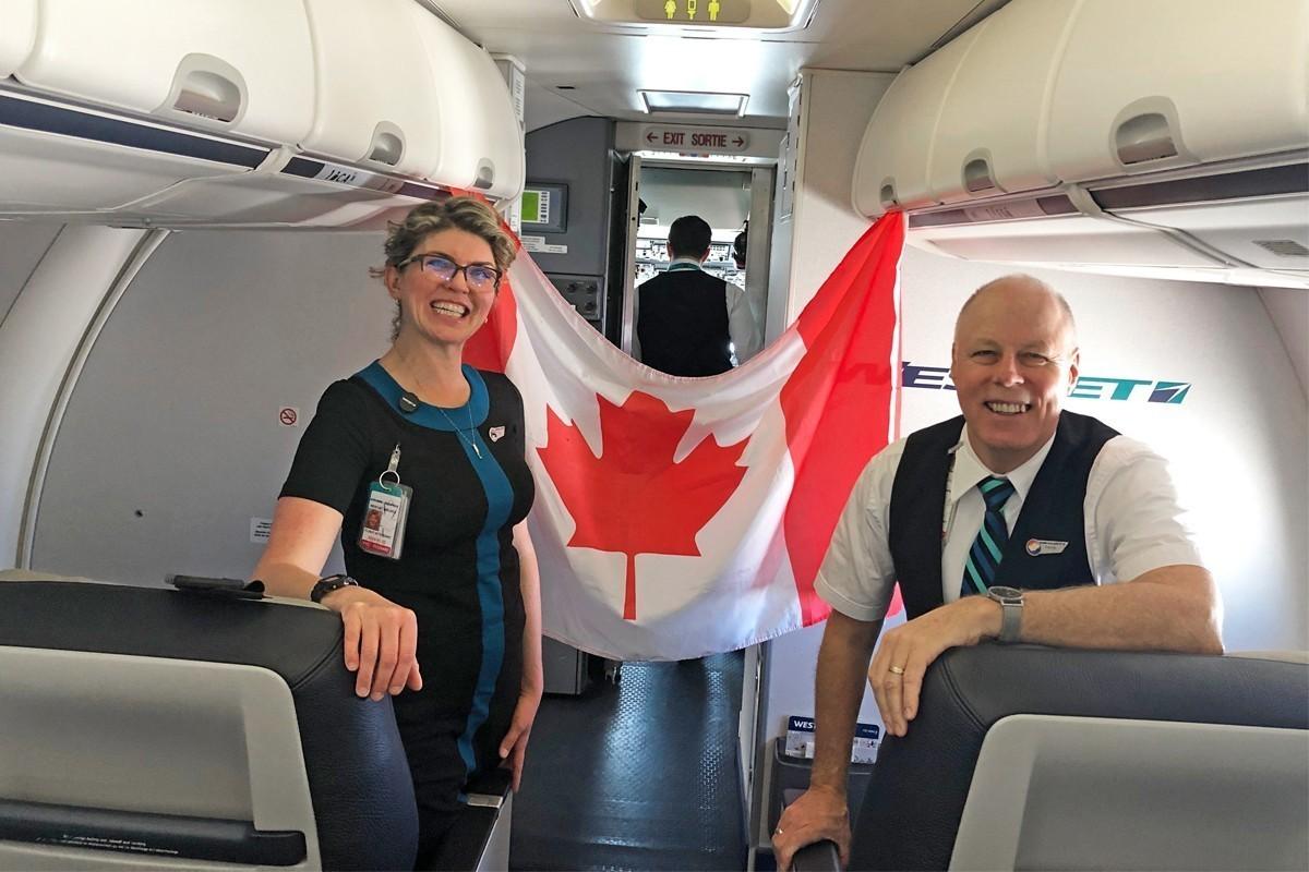 WestJet a rapatrié 4 073 Canadiens (et 75 animaux domestiques) d'avril à juillet