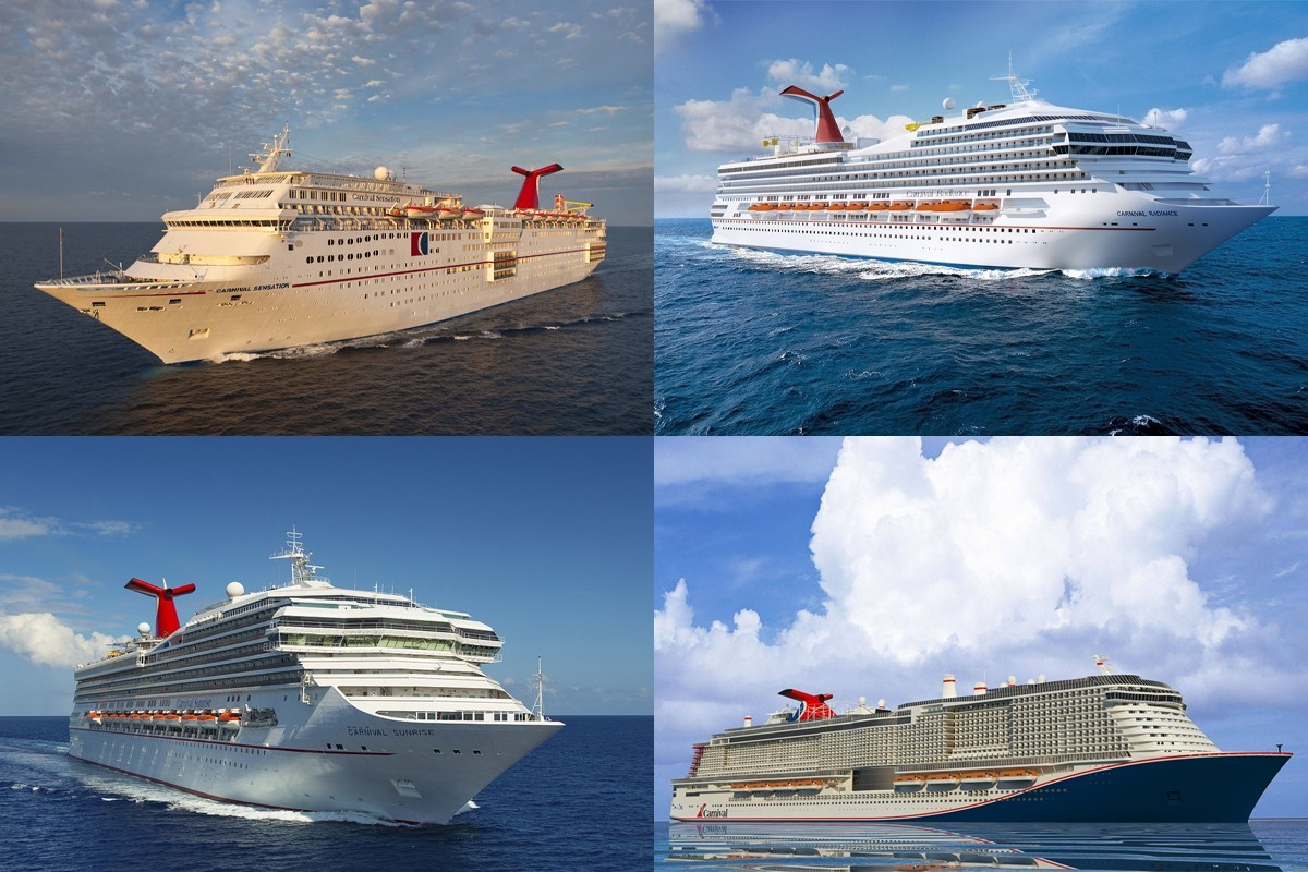 Carnival met à jour son plan de flotte