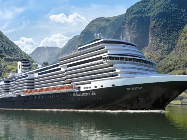 HAL change le nom du prochain navire fleuron de sa flotte : le Rotterdam