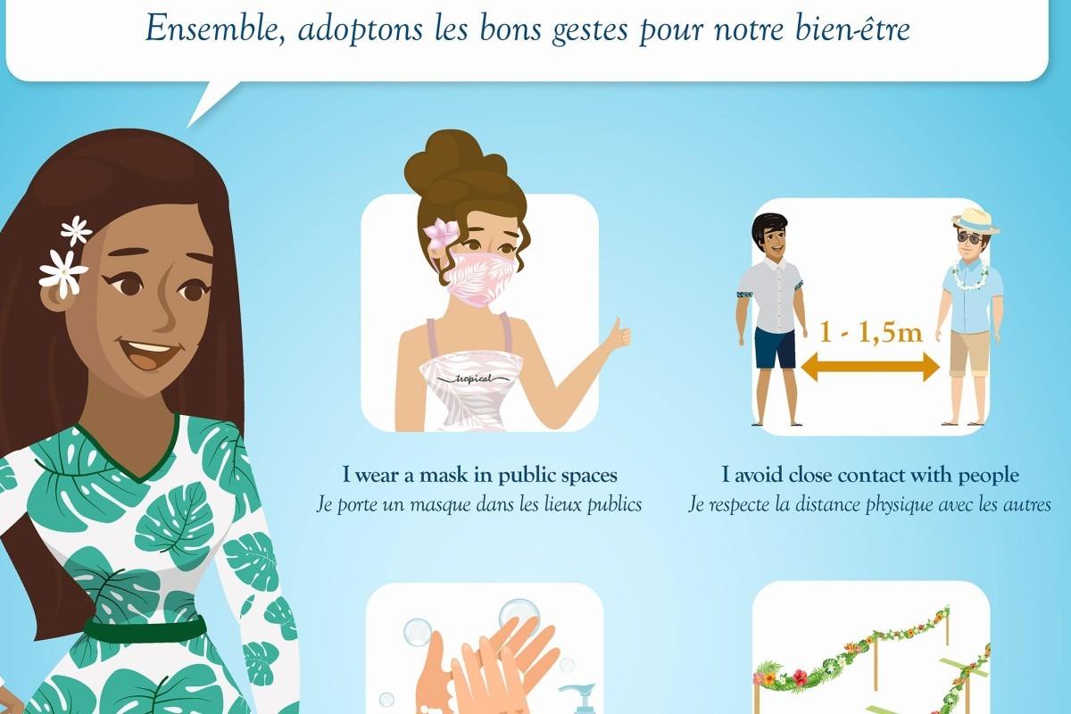 La Polynésie française renforce son protocole sanitaire