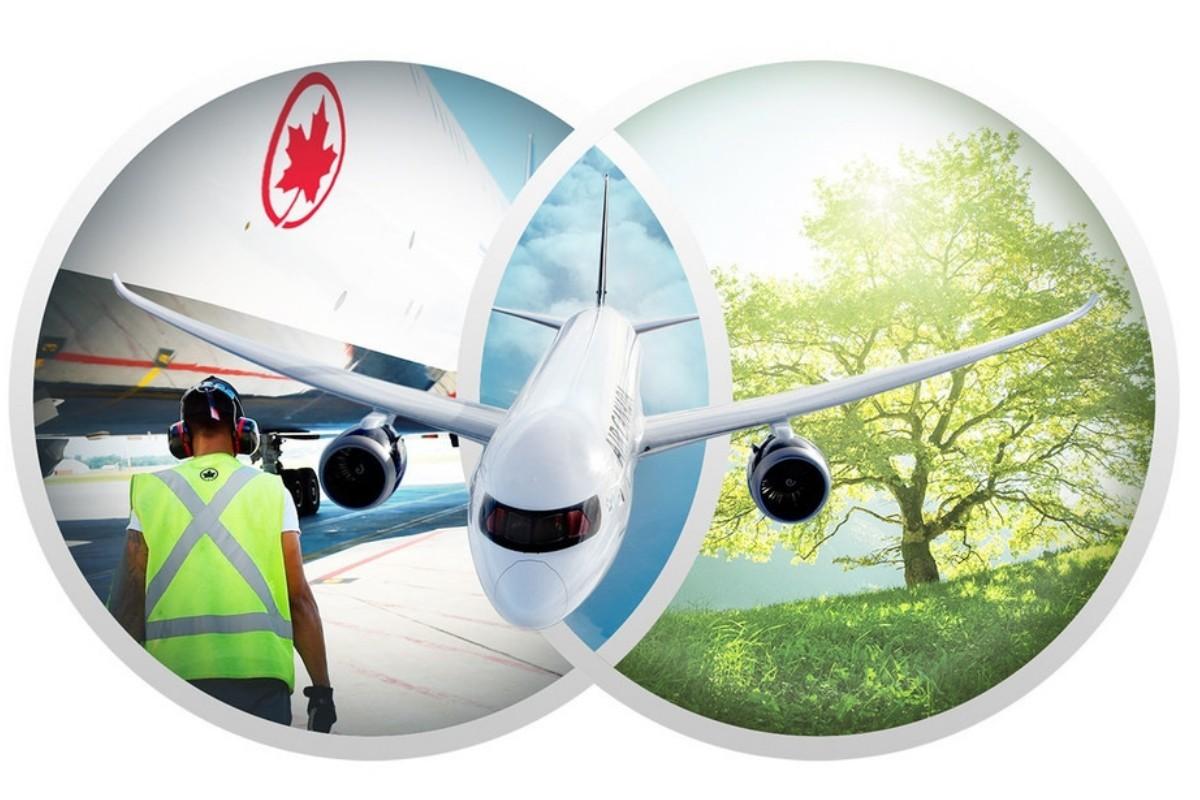 Malgré les défis, le développement durable reste une priorité pour Air Canada