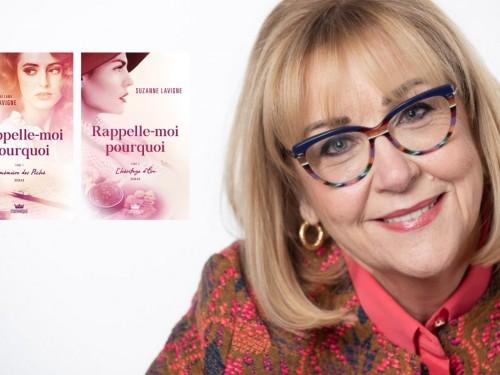 La double vie de Suzanne Lavigne : conseillère chez Voyages Gaby et… autrice !