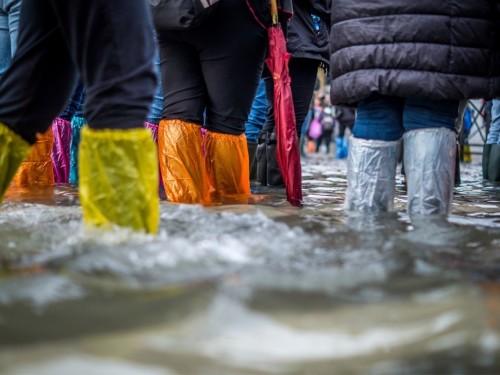Fortes pluies : Venise est submergée