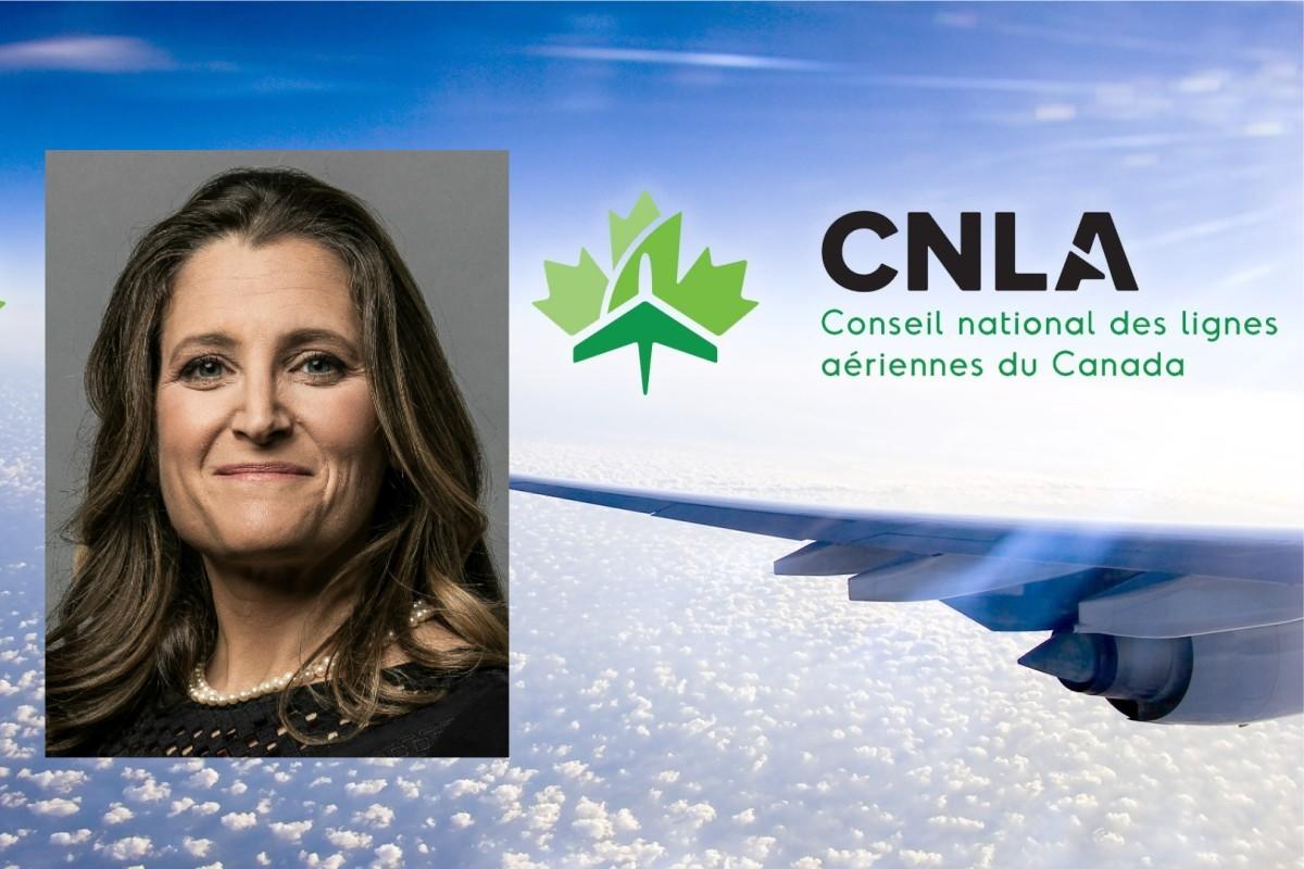 Les transporteurs aériens appellent Chrystia Freeland au secours !