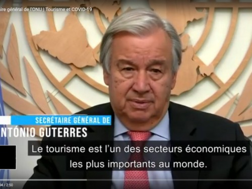 L'ONU s'intéresse à la reconstruction du tourisme