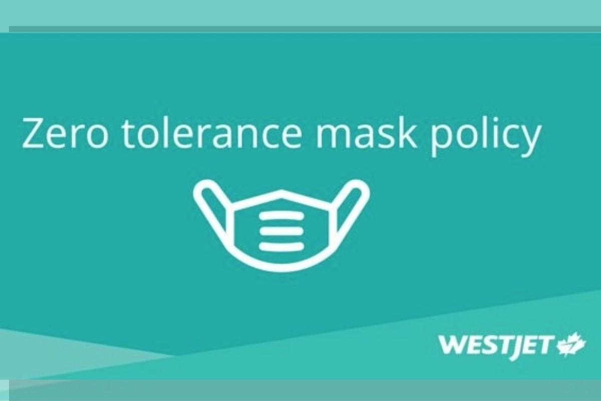 Masque obligatoire : WestJet implante une politique de tolérance zéro