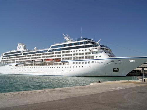L'Insignia d'Oceania Cruises en pause jusqu'au 26 avril 2021