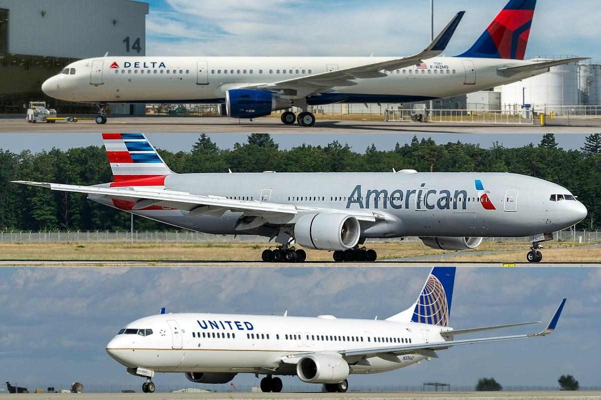 American, Delta et United renoncent aux frais de modifications