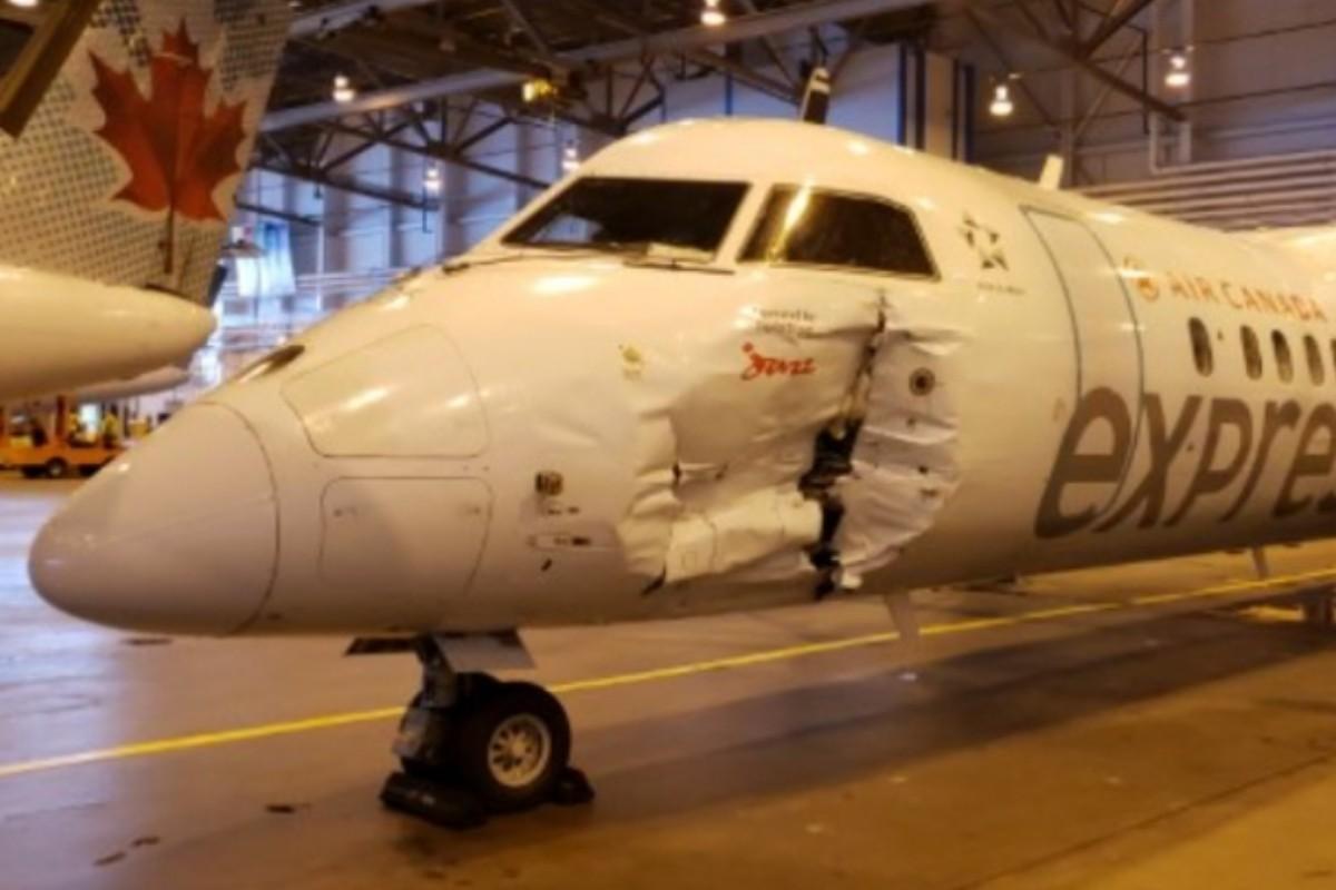 Collision à YYZ : des passagers blessés victimes de leur indiscipline