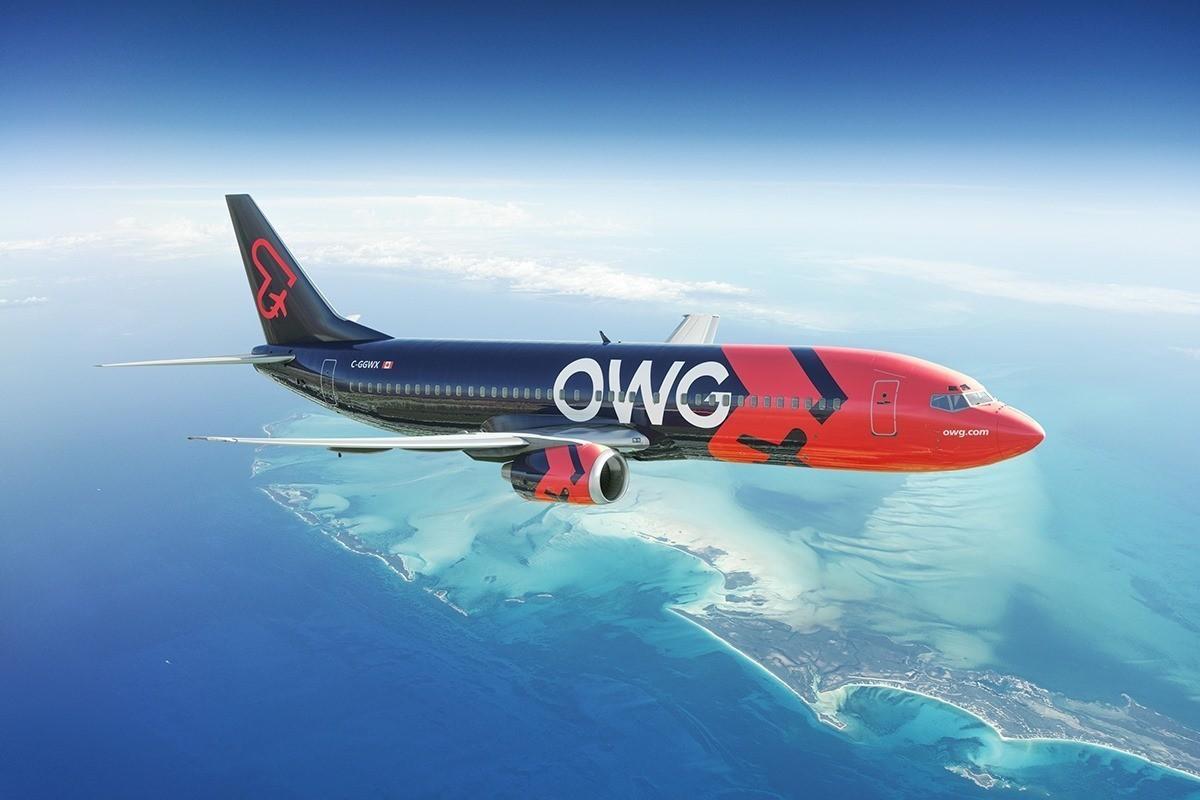Les avions d'OWG seront équipés du service de divertissement Bluebox Wow