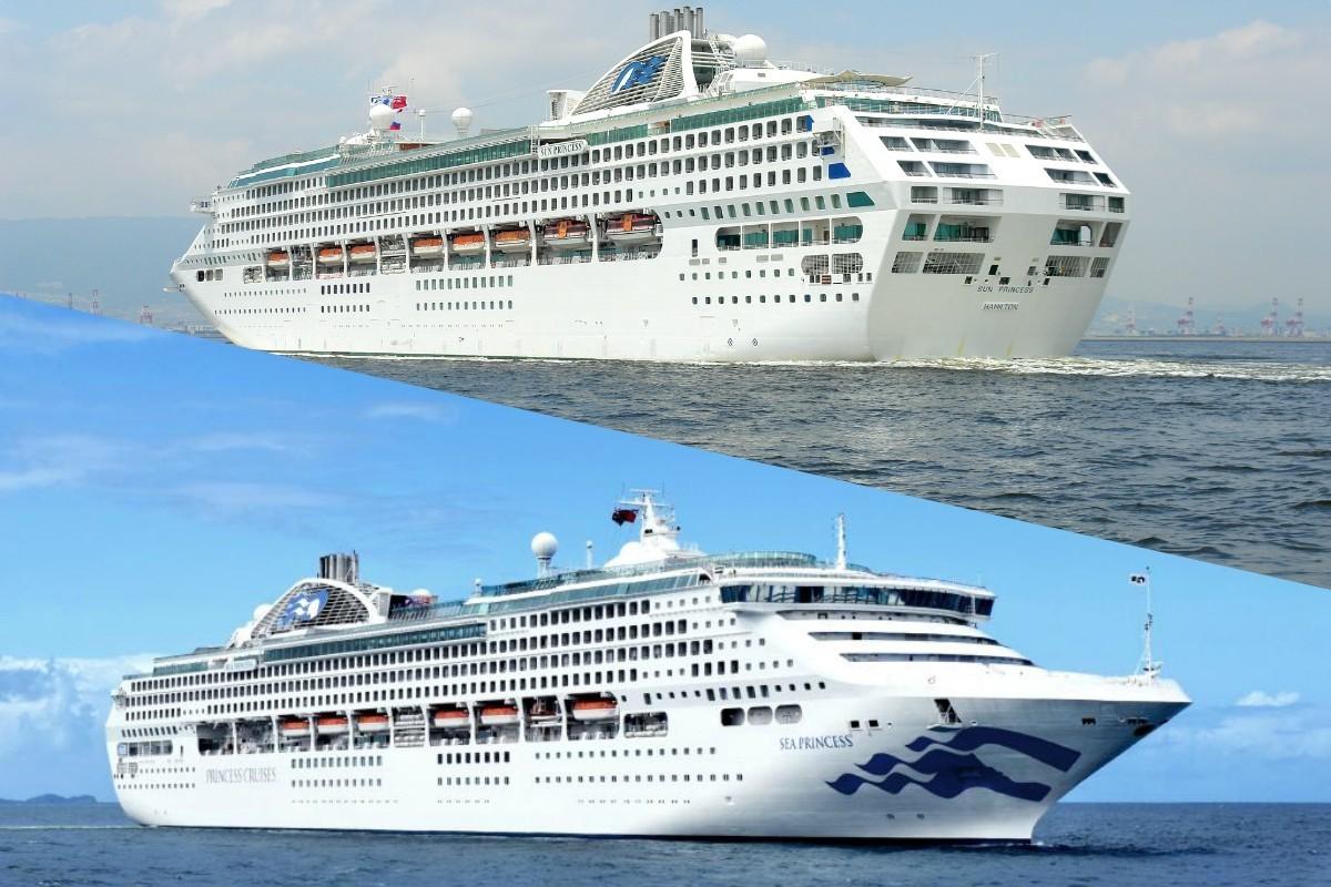 Princess va vendre deux navires de sa flotte : le Sun Princess et le Sea Princess