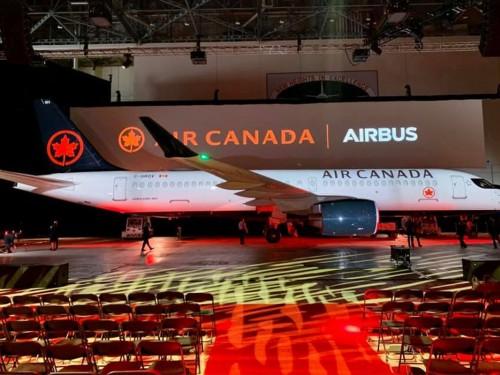 Air Canada refinance 18 avions Airbus A220