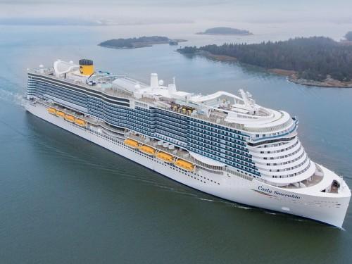 Le Costa Smeralda reprendra la mer le 10 octobre en Italie