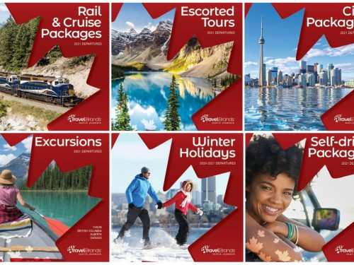 Voyages TravelBrands publie six brochures pour les voyages au Canada