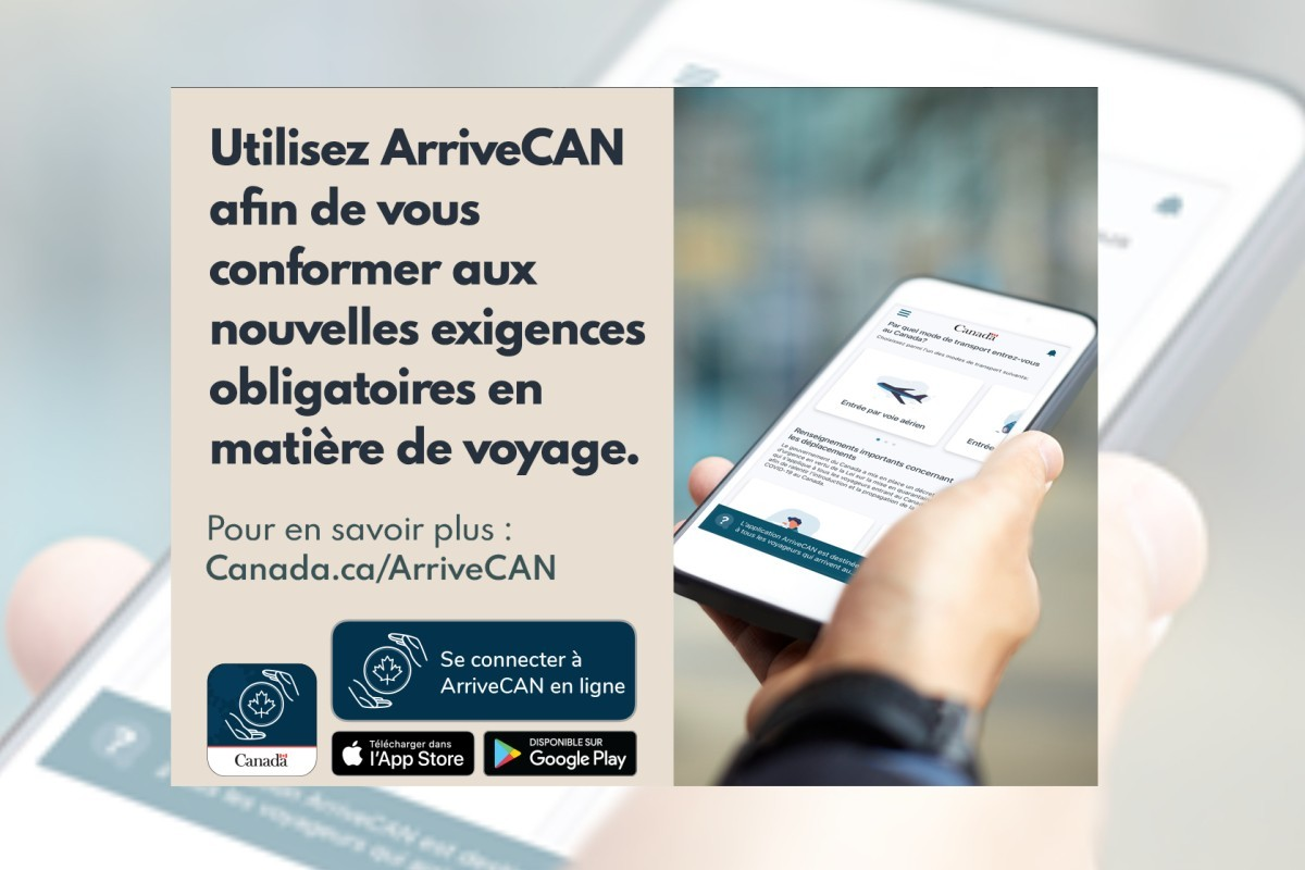 Nouvelles exigences pour les voyageurs arrivant au Canada : jusqu'à 1000 $ d'amende pour les contrevenants