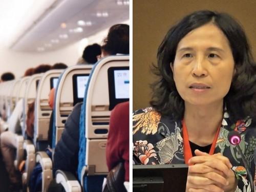 Les cas de transmission de la COVID en avion sont «extrêmement rares», confirme à son tour Theresa Tam