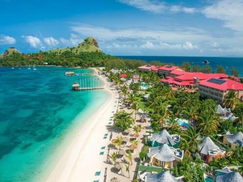 Échappez-vous virtuellement à Sainte-Lucie avec Sandals