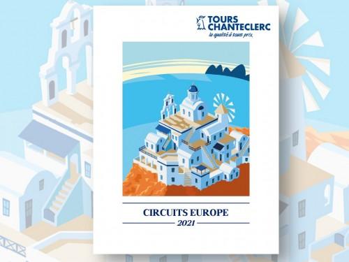 """Tours Chanteclerc présente ses """"Circuits Europe 2021"""""""