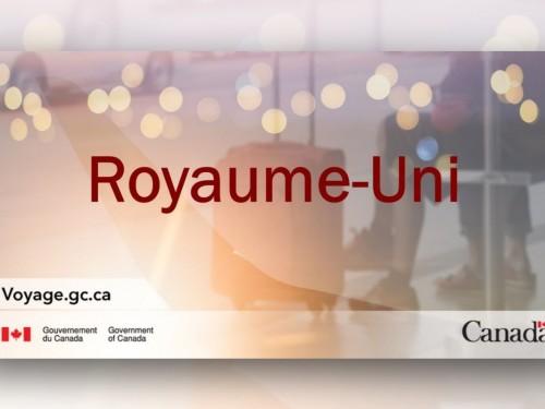 Variante du coronavirus : le Canada ferme sa frontière avec le R.-U. pour 3 jours