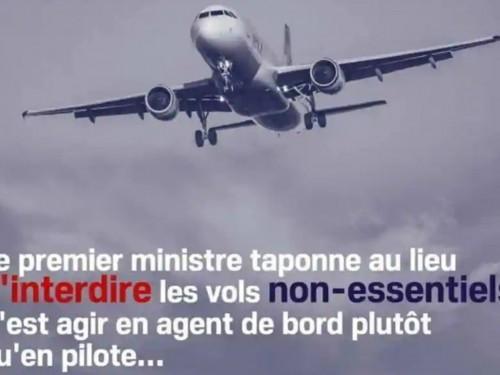 Agir en agents de bord plutôt qu'en pilote : le Bloc québécois s'excuse