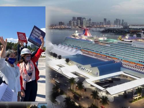 PortMiami et Carnival Cruise Line lancent la construction du terminal F, future résidence du Carnival Celebration