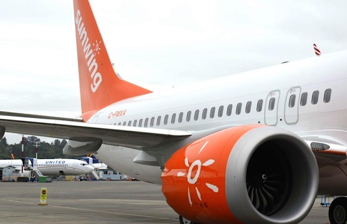 Deux nouveaux Boeing 737 MAX 8 livrés à Sunwing