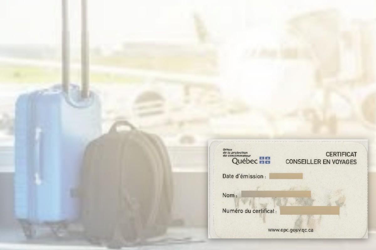 Les frais de CCV seront suspendus, en plus de ceux du permis d'agent de voyages !