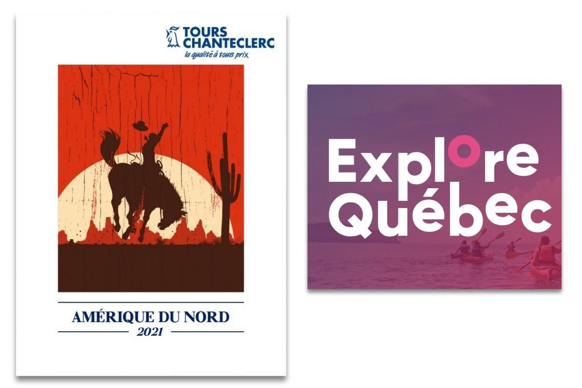 Tours Chanteclerc fait valoir les forfaits «Explore Québec» de sa brochure «Amérique du Nord 2021»