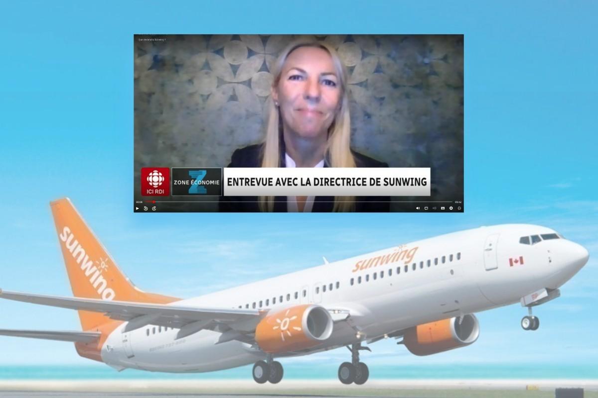 Lyne Chayer, DG de Sunwing Québec : « L'entreprise n'est pas à vendre ! »