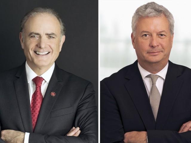 Calin Rovinescu est parti à la retraite; Mike Rousseau lui succède à la tête d'Air Canada