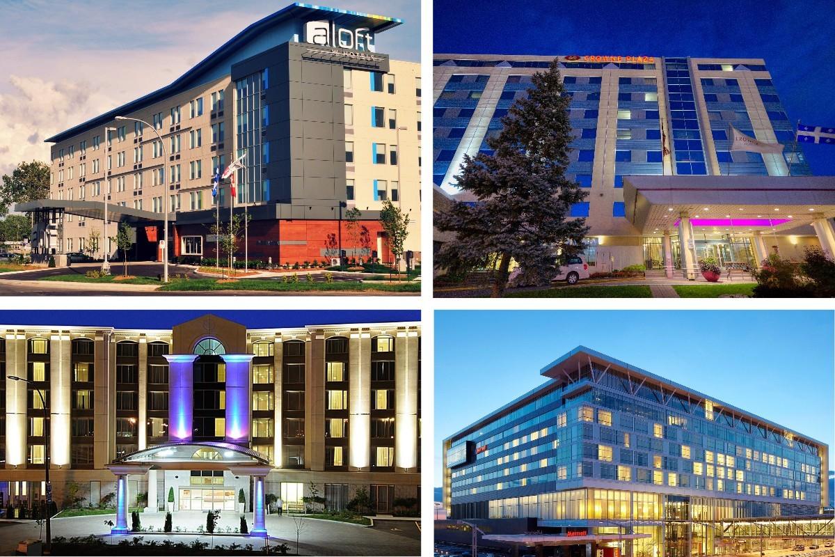 Quarantaine à l'hôtel : 4 établissements autorisés près de YUL