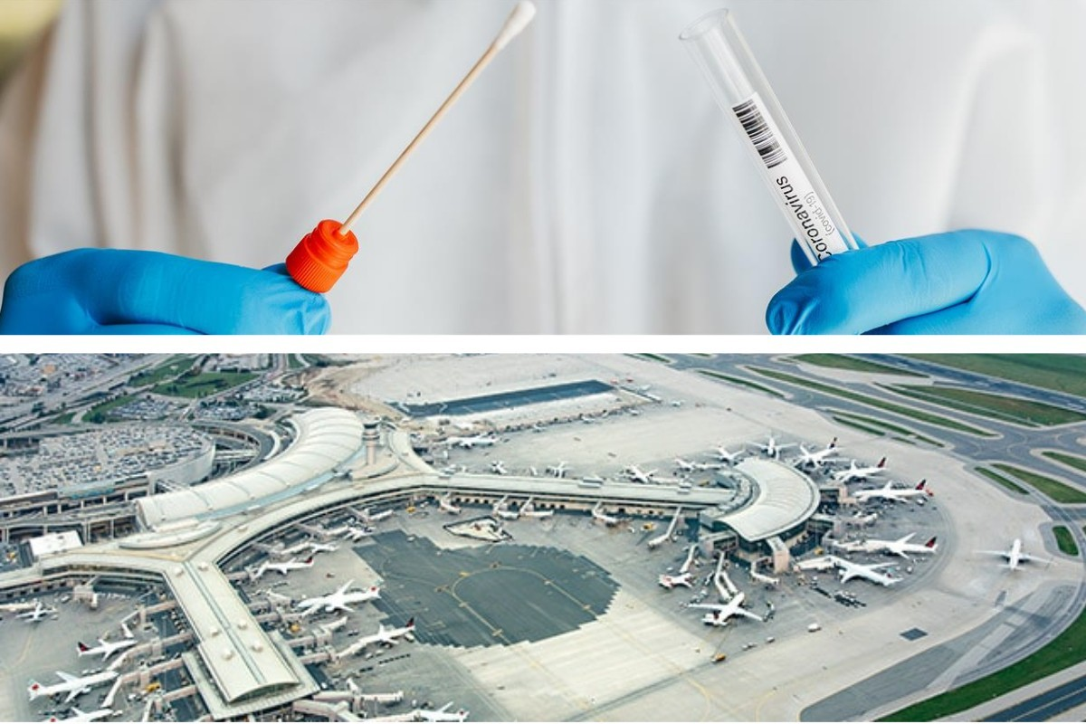 Un nouveau programme de recherche sur les tests rapides de dépistage de la COVID à YYZ