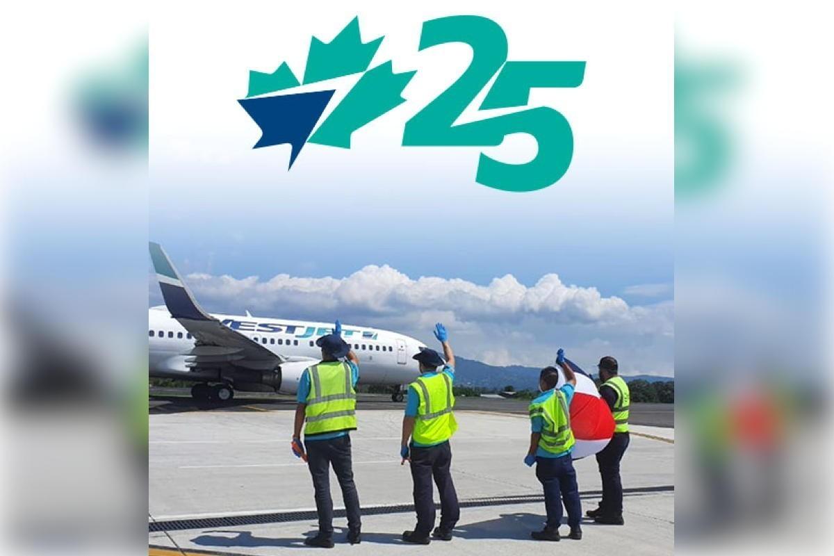 Bon 25e anniversaire, WestJet!