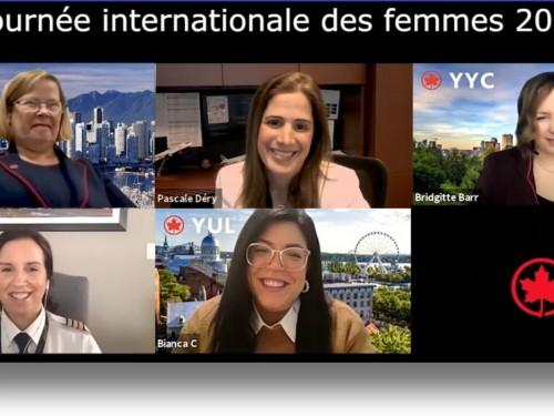 Journée internationale des femmes 2021 : Air Canada souligne l'apport de son personnel féminin