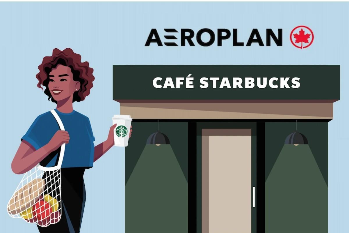 Aéroplan annonce un partenariat avec Starbucks